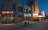 Pickwick Theatre at Night