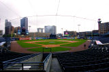 Behind Home Plate Toledo Ohio