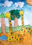 giraffe, Celina, age:5.5