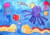 under water, Jeri, age:8
