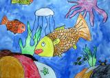 under water, Jamie Ma, age:7