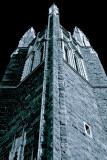 Church-tower BW