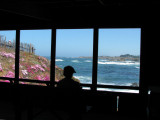 View from the cliff house