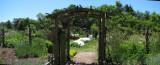 Botanical gardens vegetable garden