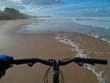 Bike on Beach  - Newport, Oregon