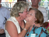 .  . or kiss you?  Ask Mary about her announcement at the Sip and Chat?