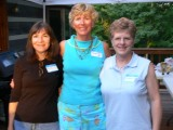Gina Kosser, Jane Fall, Mary Ann Sweatt Greenough