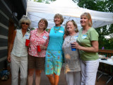 Becky Felts Rogers, Jane Fall, Joan Self Kerr, Cindy Graham