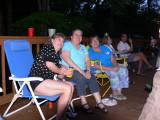 Judy Taylor Ullrich,Nancy Howell,Debbe Hershey,Janet Nichols Howell, Bob Bowers