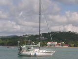 Sailing on the Aquamarine