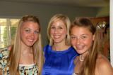 Molly, Alisa, Hannah
