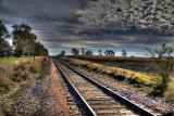 Corn along the Tracks