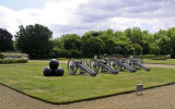 Canons at the Royal Hospital Chelsea.