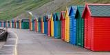 Bathing huts at Whitby