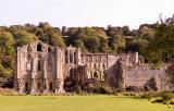 Rievaulx Abbey near Helmsley,  North Yokshire