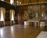 The Council Chamber is a magnificent oak-panelled room designed by Sir Christopher Wren and embellished by Robert Adam