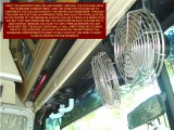FRONT AIRCONDITIONER DUCT DISTRIBUTE THE COLD AIR FROM THE FRONT ROOF AIRCONDITIONER