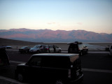 dawn at the Badwater basin