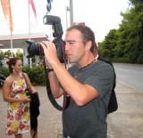 Mark with Glenn's camera