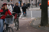 Amsterdam 2008- Riding bicycles