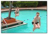 The Pool - Josh having fun