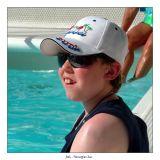 Josh basking in the sun
