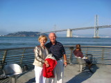 Dad and Francie Visit SF - June 2008
