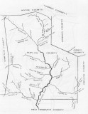 Duplin Co NC 1800 Map