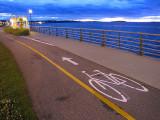 la belle piste cyclable de Rimouski