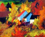 Baie-St-Paul , paradis des peintres