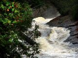 la rivière en furie