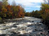 la rivière St-Charles à Wendake