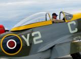 cockpit du P-51 Mustang
