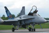 F 18 venant de Bagotville