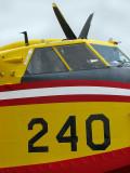 le Canadair 240 aux oreilles de lapin