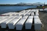 cercueils de béton