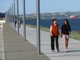 marche sur la promenade Champlain