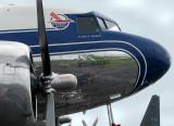 DC-3 bleu