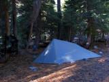 Integral Designs Silshelter at Trail Gulch Lake