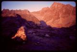 Indian Basin at sunset