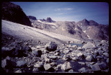 Knife Point Glacier near Indian Pass