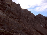 North wall cirque of Kings Castle