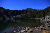 Cliff Lake on a Halloween Full Moon