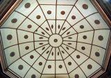 Rotunda ceiling of courthouse