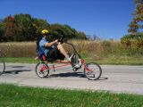 Rans recumbent bike
