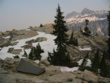 Mirror Lake campsite