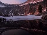 Mirror Lake sunrise reflections