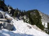 Kalmia pass, the route into Canyon Creek