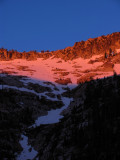 Sunrise on Climber's route