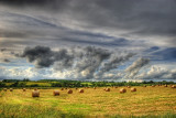 Clouds & Bales 2